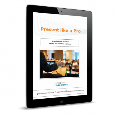 Present Like A Pro - Cover Image - ebook - downlaod - Leadership Skills - Professional Development - Public Speaking