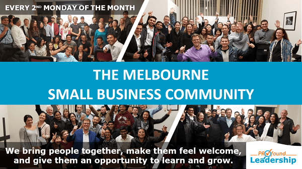 The Melbourne Small Business Community - Professional Development - Leadership Skills - Entrepreneurs