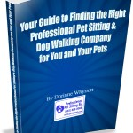 Pet sitting dog walking book cover 2