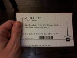 Burj Ticket