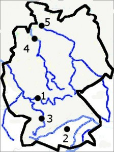 Harta muta Germania