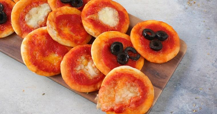 Pizzette senza lievito – con impasto velocissimo