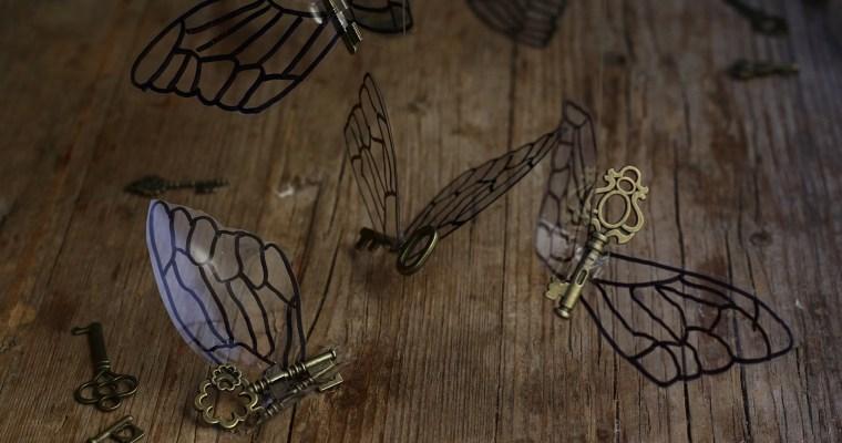 Chiavi volanti Harry Potter – tutorial per feste a tema