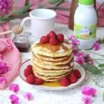 Pancakes con sciroppo d'acero e Tour Candia