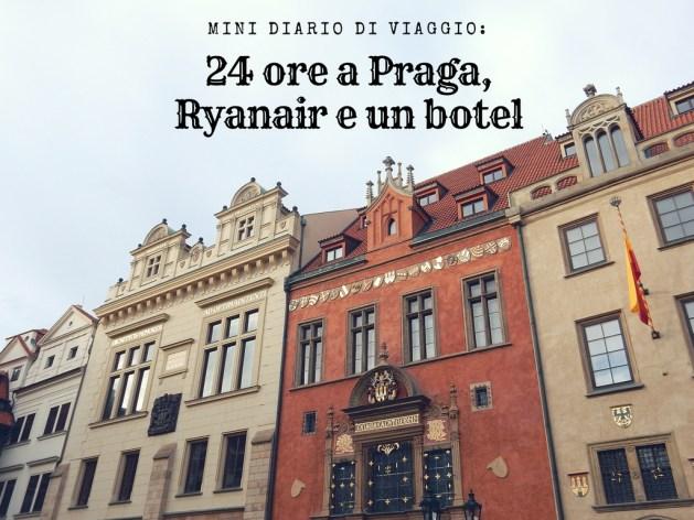24 ore a Praga hotel romantico ryanair
