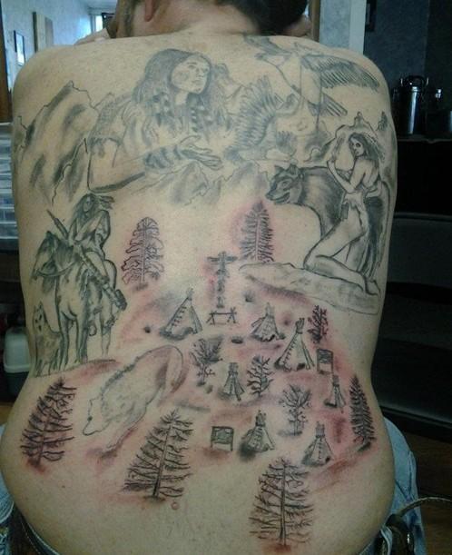 Tatuaggi Pocahontas
