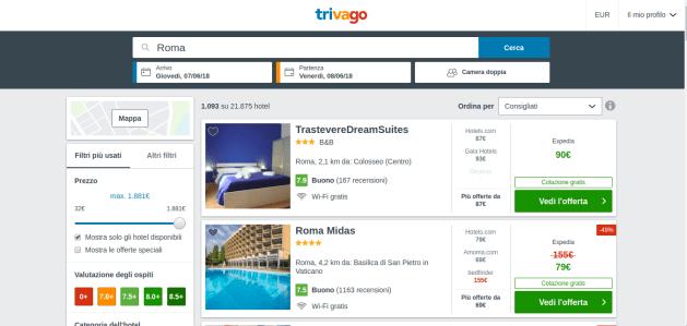 come trovare i voli e gli hotel più economici