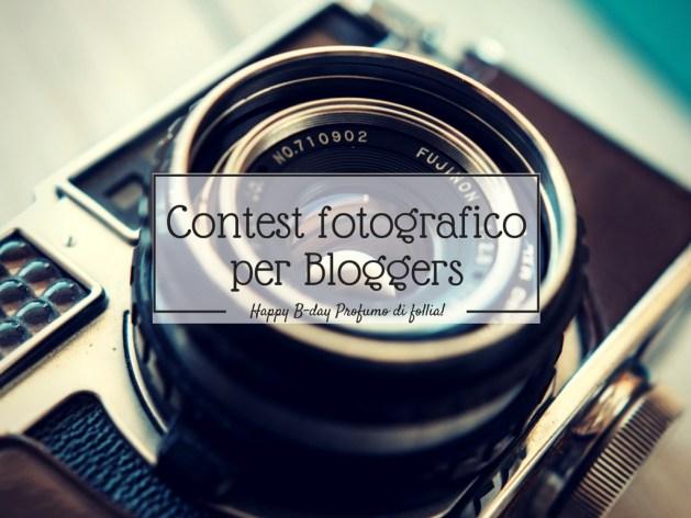 Contest fotografico per blogger