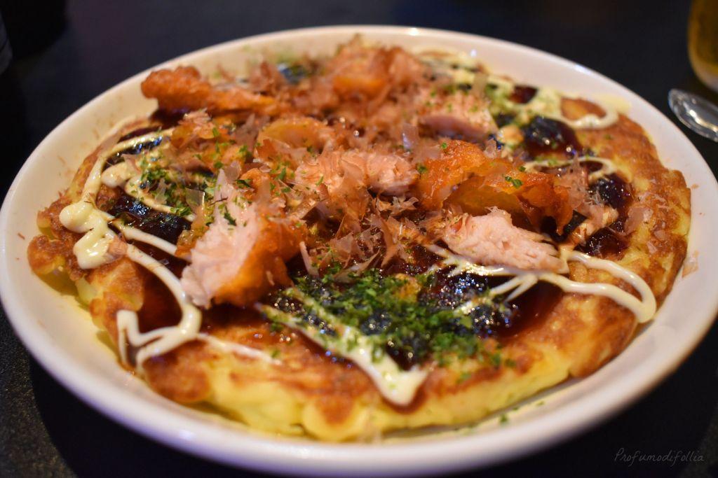 Okonomiyaki a Dotonbori - [Una settimana in Giappone: Osaka]