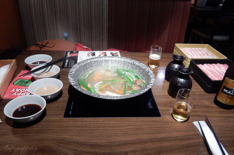 dove mangiare a Tokyo shabu shabu