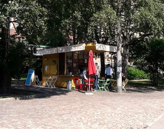 helsinki dove bere un caffè italiano