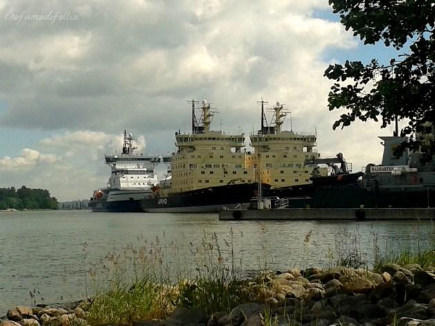 Helsinki cosa vedere navi rompighiaccio