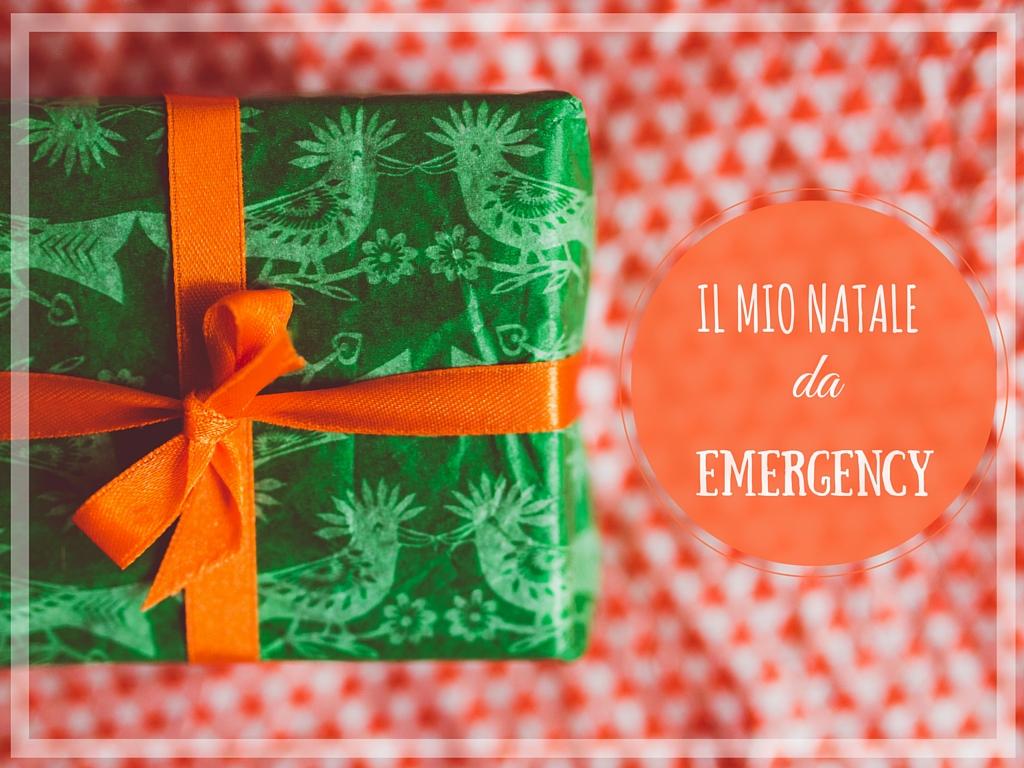 Il mio Natale da Emergency