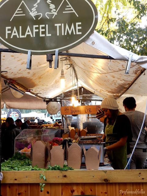 falafel time Camden Town
