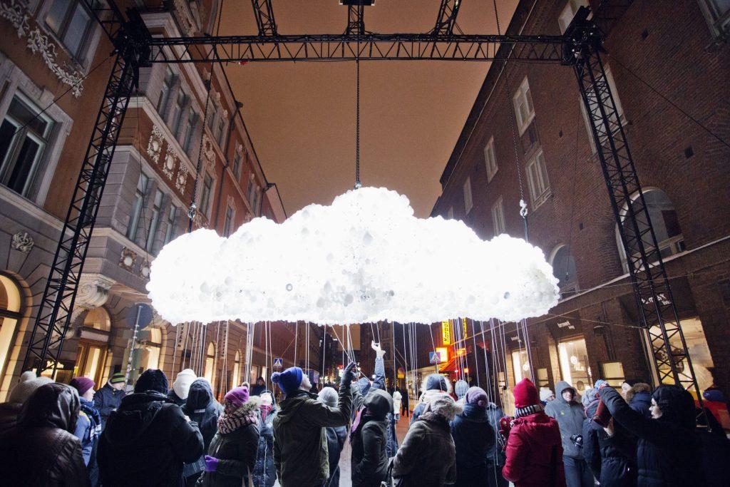 Cosa fare in Finlandia nel 2020: foto di un'installazione di Lux Helsinki