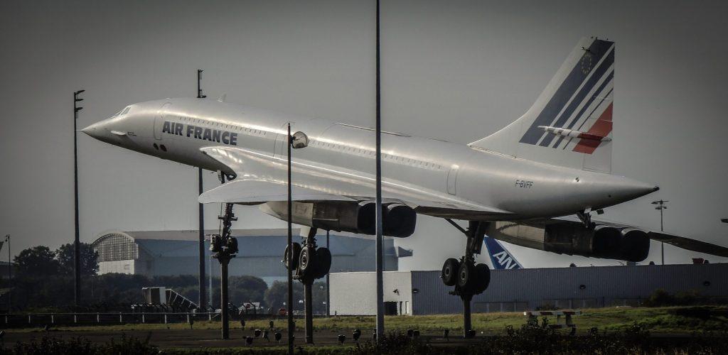 Volare con Air France: foto del Concorde