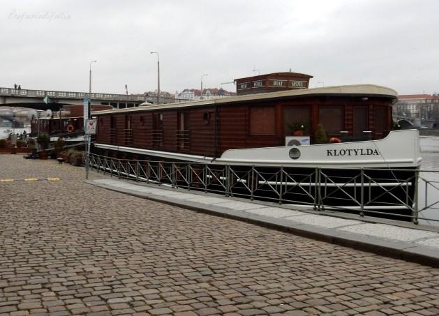 hotel romantico a Praga boat hotel