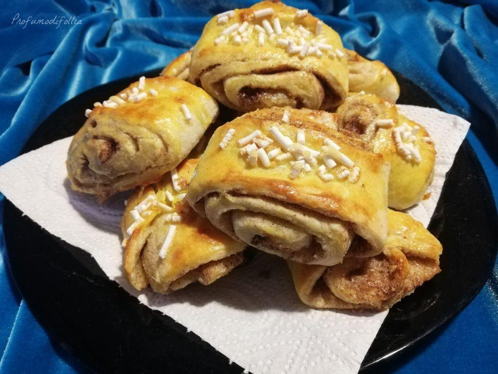 Ricetta dei dolci alla cannella finlandesi, i korvapuusti