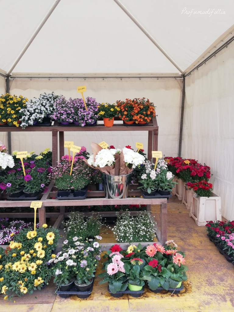 Roma Flowers Park - stand dei fiori