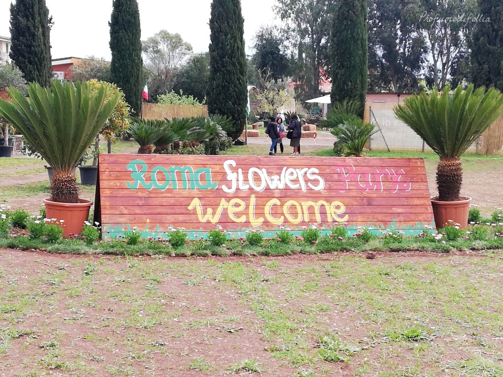 Roma Flowers Park - entrata