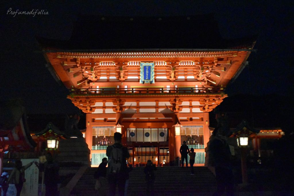 Visita ad Arashiyama: entrata al santuario di Fushimi Inari-Taisha