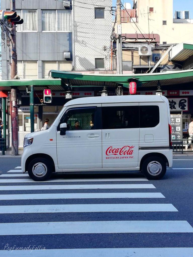 Alla scoperta di Kyoto, diario di viaggio - macchine giapponesi