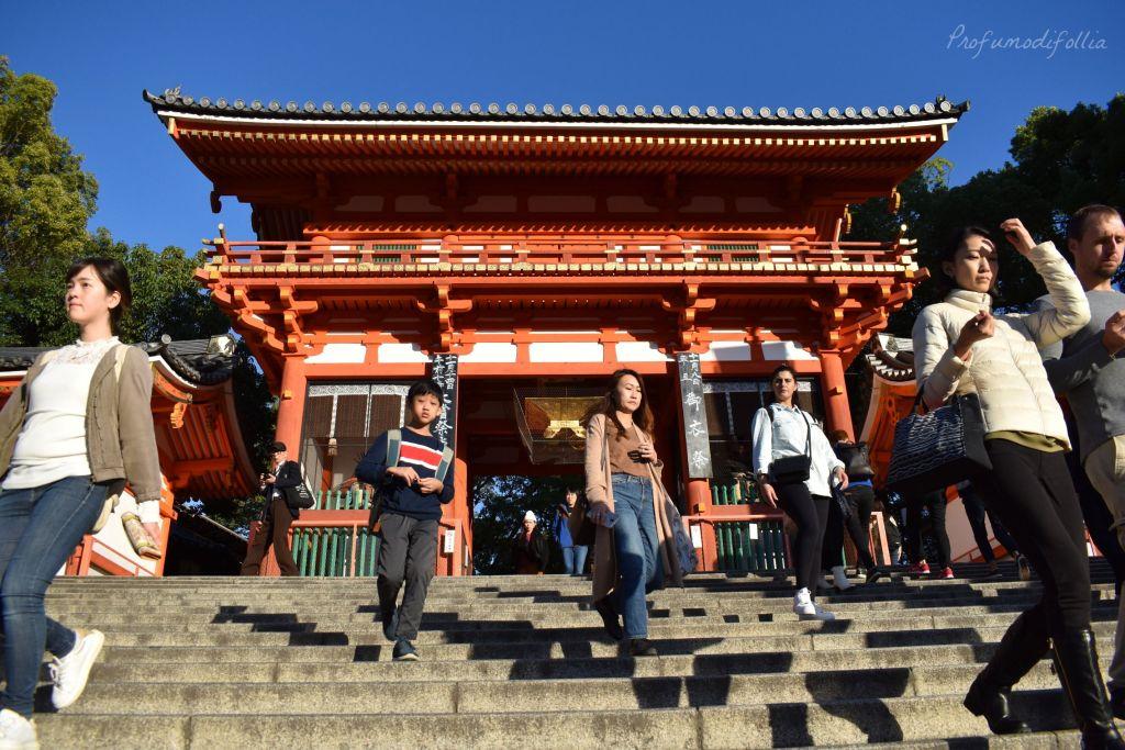 Alla scoperta di Kyoto, diario di viaggio - tempio di Yasaka