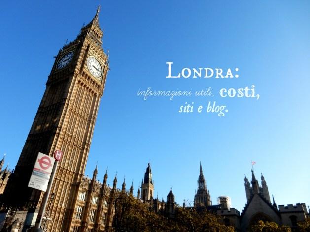 Informazioni per visitare Londra