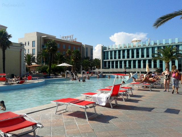 Piscine esterne del Victoria Terme Hotel