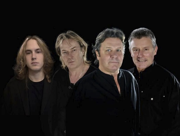 Asia (from left to right: Sam Coulson, Geoff Downes, John Wetton & Carl Palmer)