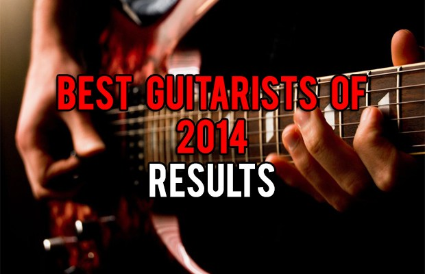 Best Guitarists of 2014 - Results
