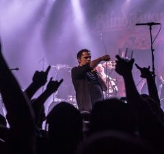 Blind Guardian live at Commodore Ballroom 2015 (Photo by Kevin Eisenlord Photography)