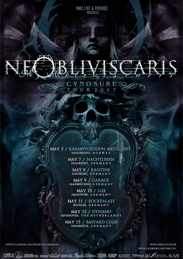 Ne Obliviscaris tour dates