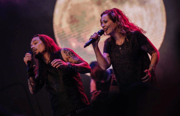 "AMORPHIS Release Live Video for ""Her Alone"" Feat. Anneke Van Giersbergen"