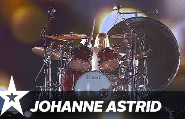 """10 Year Old Girl Wins """"Denmark's Got Talent""""; Performs Drum Covers of RATM and Led Zeppelin"""