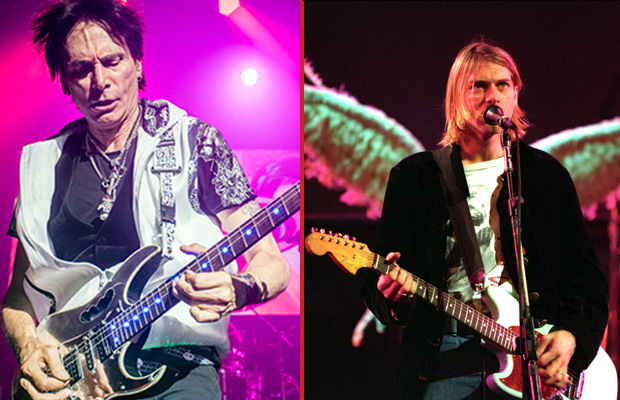 "STEVE VAI: ""Try to Play Like KURT COBAIN, It's Not That Easy"""