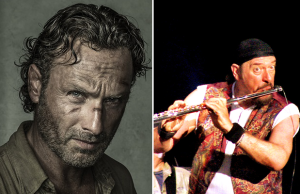 Andrew Lincoln & Ian Anderson