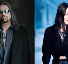 """SYMPHONY X' Russel Allen and Ex-NIGHTWISH Singer Anette Olzon Launch """"Worlds Apart"""" Single"""
