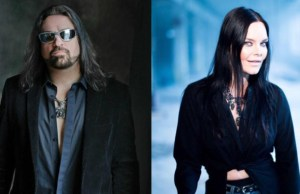 "SYMPHONY X' Russel Allen and Ex-NIGHTWISH Singer Anette Olzon Launch ""Worlds Apart"" Single"