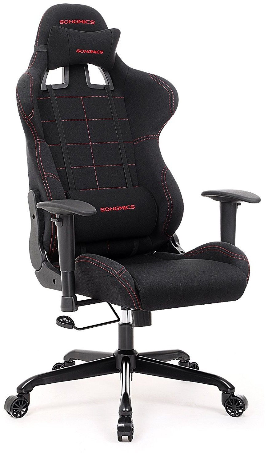 lcs gaming chair hammock swing chairs best top 20 pc to buy in 2019 image of black and red from songmics