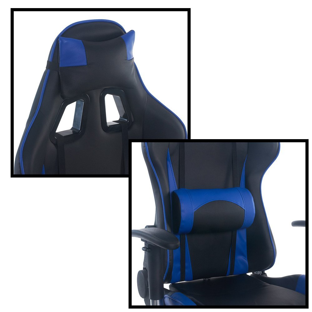 lcs gaming chair kneeling benefits best chairs top 20 pc to buy in 2019 image of neck and back rest on a