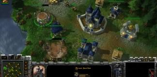 Screenshot from Armies of azeroth Starcraft 2 mod