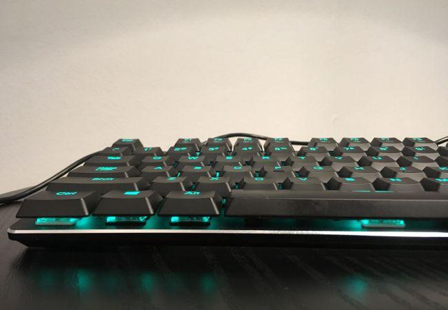 Teal keyboard