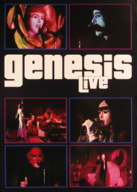 GENESIS Genesis Live progressive rock album and reviews