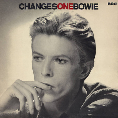 Photo of David Bowie from his Changes album