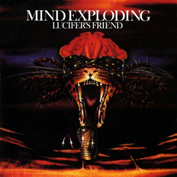 Lucifer's Friend Mind Exploding album cover