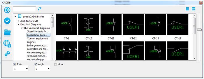iCADLib pi di 20000 blocchi CAD DWG 2D3D pronti all