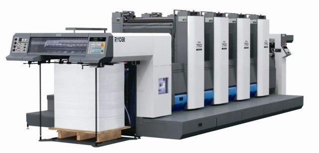 stampante offset 4 colori