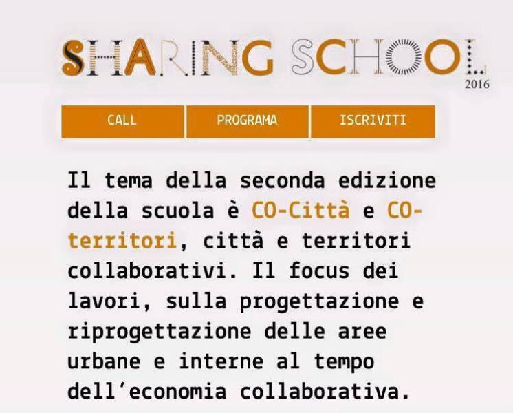 sharing school