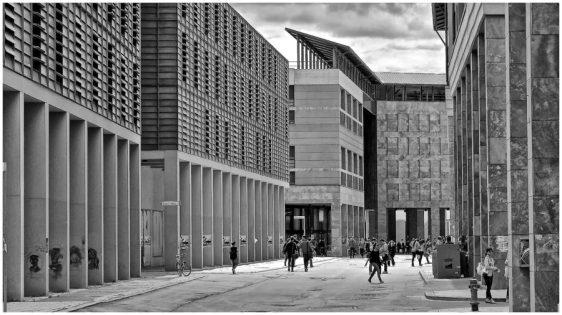 Il polo universitario a Novoli, Firenze. © Massimo Lensi